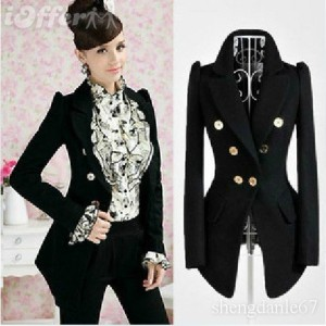 korea-new-style-women-career-ol-slim-black-coat-jacket-abe1